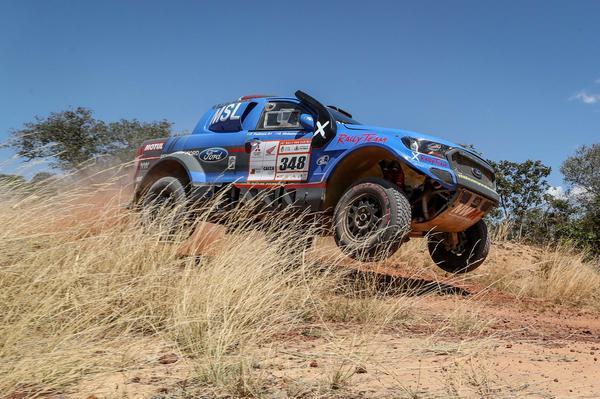 #348 - Gunter Hinkelmann/Fábio Pedroso (Ford Ranger V8 4x4 T1 Brasil) (Magnus Torquato/FOTOP)