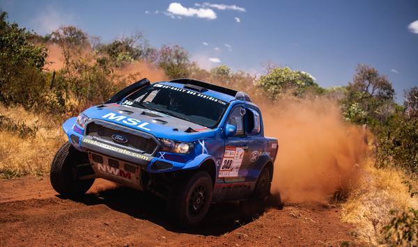 #348 - Gunter Hinkelmann/Fábio Pedroso (Ford Ranger V8 4x4 T1 Brasil) (Victor Eleutério/FOTOP)