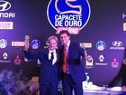 Dupla também ficou com o Capacete de Ouro da revista Racing no Off Road (Divulgação)