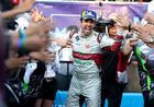 Di Grassi é saudado pelo público pela vitória no México (Audi Motorsport)