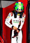 Lucas se prepara para a largada: brasileiro deixou o Chile otimista (Audi Motorsport)