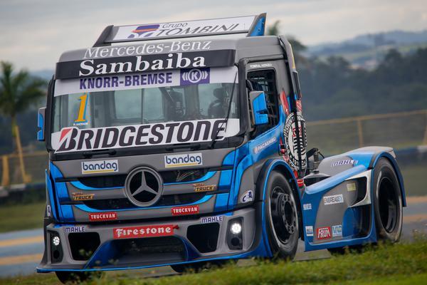 Roberval Andrade corre pelo segundo título consecutivo na Copa Truck