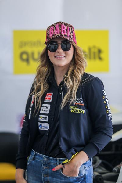 Gabriella Morais teve na etapa de Curvelo seu primeiro contato com a Copa Truck