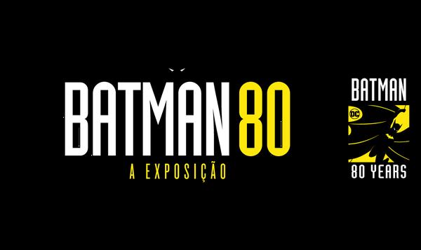 Batman 80 - A Exposição - Logo