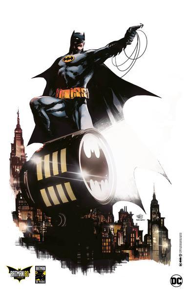 Batman 80 - Po?ster oficial - Ivan Reis e Pedro Cobiaco