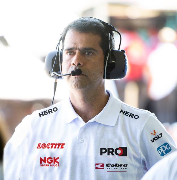 Nonô Figueiredo, chefe da Cobra Racing Team (Divulgação)