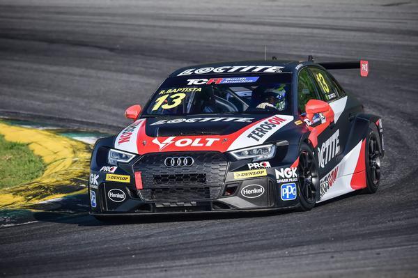 Digo Baptista ficou em 3º na primeira prova da estreia do TCR South America (William Inácio)