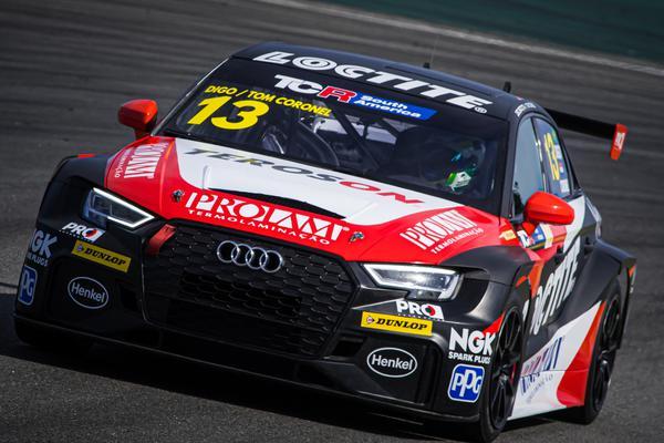 Audi RS3 LM TCR #13 de Digo Baptista está pronto para a corrida de Curitiba (Rafa Catelan)