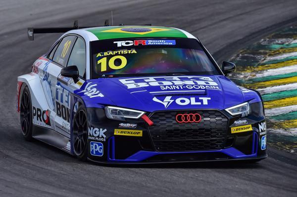 Adalberto Baptista dividirá seu Audi com Alan Hellmeister (William Inácio)