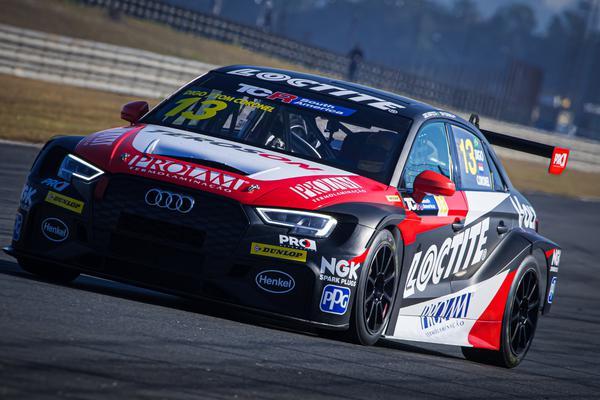 Audi RS3 LM TCR de Digo Baptista e Tom Coronel (Rafa Catelan)