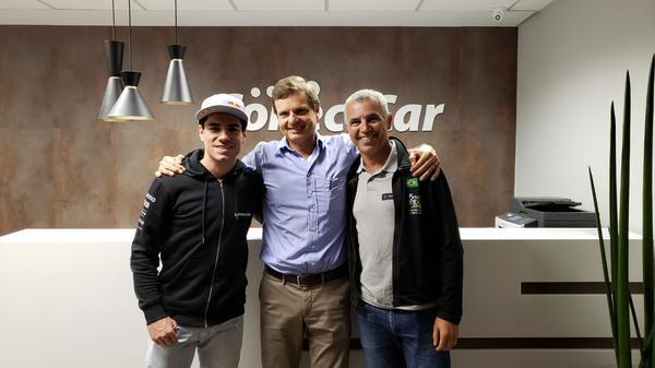 Henrique Avancini, Felix Cardamone e Mario Roma