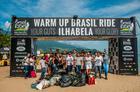 Evento teve ação inédita em parceria com o Seu Lixo Meu (Ney Evangelista / Brasil Ride)