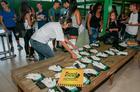 Jovens reunidos antes do início das atividades (Ney Evangelista / Brasil Ride)