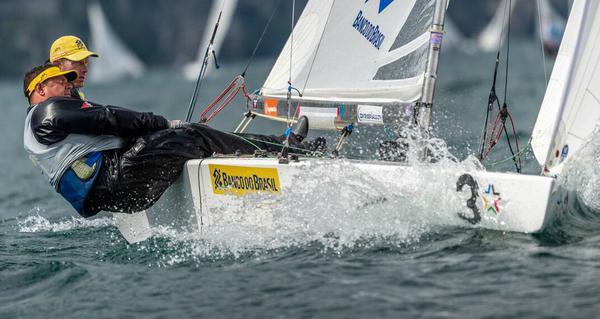 Scheidt e Maguila em ação no Lago Di Garda