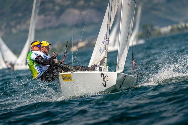 Scheidt e Maguila velejam na Itália