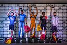 Pódio categoria PNE (Wladimir Togumi / Brasil Ride)