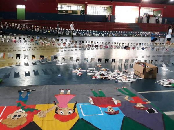 Festa junina para os alunos do Núcleo Recife/Cabo de Santo Agostinho