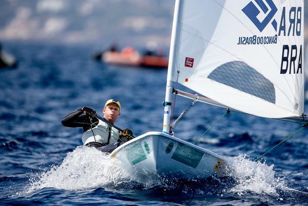 O bicampeão olímpico Robert Scheidt