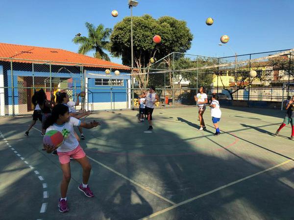 Julho será de muita diversão e esporte para os alunos do Rede de Núcleos