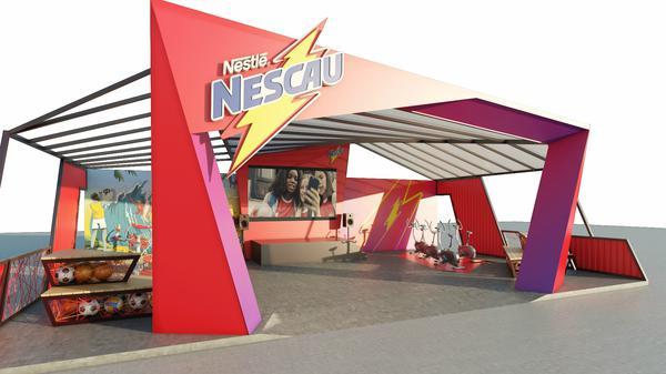 Estande de NESCAU® na Game XP