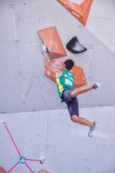 Escalador paulista volta a competir no sábado