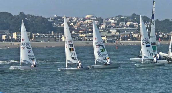 Scheidt enfrentou regatas equilibradas no evento-teste