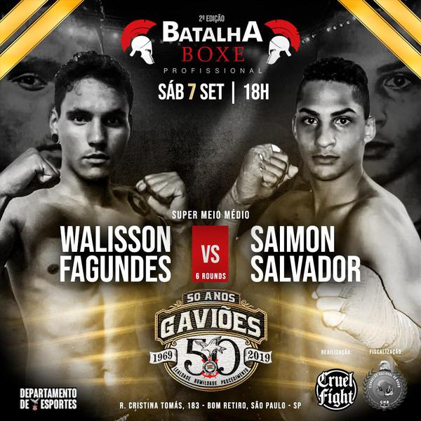 Walisson enfrenta Saimon