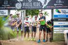 Lukas no pódio da última etapa da Brasil Ride 2018 (Fabio Piva / Brasil Ride)