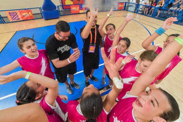 O esporte ensina união