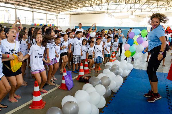 O evento reuniu cerca de 700 crianças e jovens