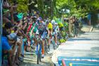 Tiago Ferreira puxa o grupo (Josue Fernandez / Brasil Ride)