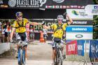Tiago e Hans, campeões da 10a. edição (Fabio Piva / Brasil Ride)