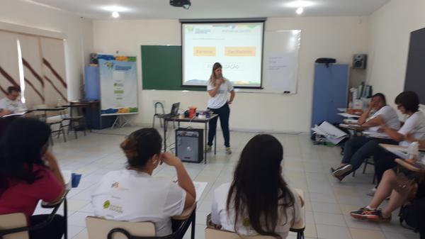 Sorriso recebe mais uma formação do projeto do IEE