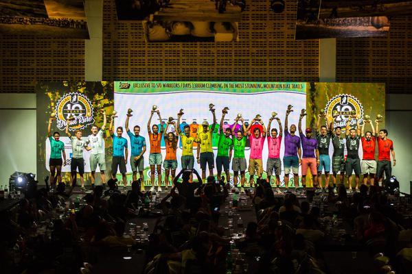 Todos os campeões da 10a. edição