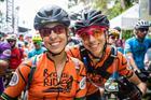 Felicidade das campeãs Viviane e Tania (Fabio Piva / Brasil Ride)