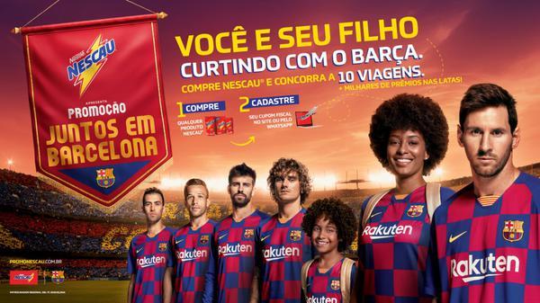 """Promoção """"Juntos em Barcelona"""""""