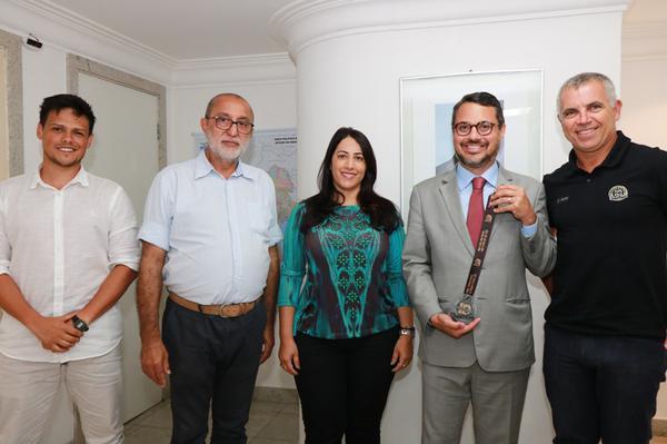 Participantes da reunião na SETUR (Tatiana Azeviche / SETUR)