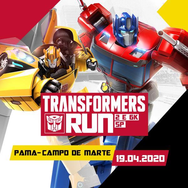 Transformers Run terá dois percursos