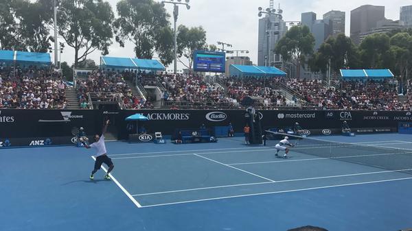 Dupla volta a jogar em Melbourne, onde chegou até as quartas de final em 2018