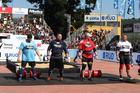 Os quatro atletas (Rodrigo Dod / Savaget)
