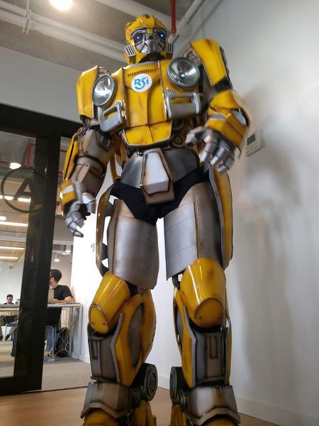 Robô Bumblebee estará no Campo de Marte