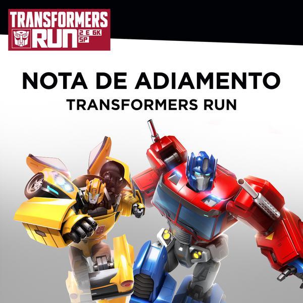 Transformers Run foi adiada e nova data ainda será definida