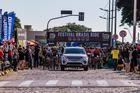 Largada da segunda etapa (Wladimir Togumi / Brasil Ride)