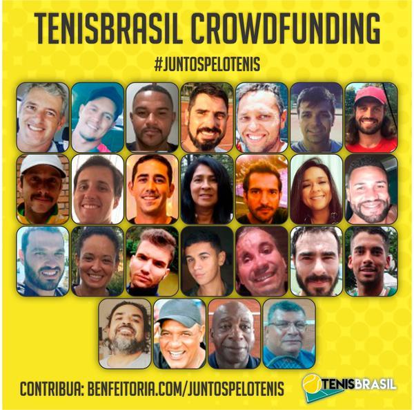 TenisBrasil Crowdfunding