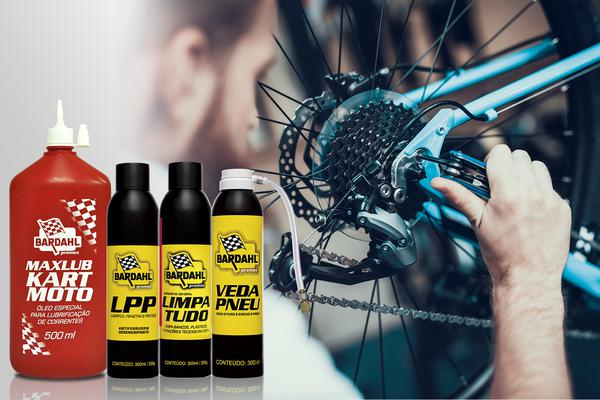 Produtos Promax Bardahl para bicicleta