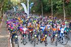 Participantes reunidos para o Giro de Ubá (Divulgação)