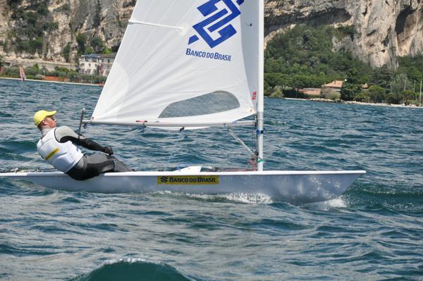 Robert veleja no Lago di Garda