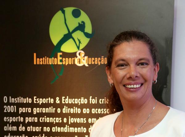 Ana Moser, criadora e presidente do IEE