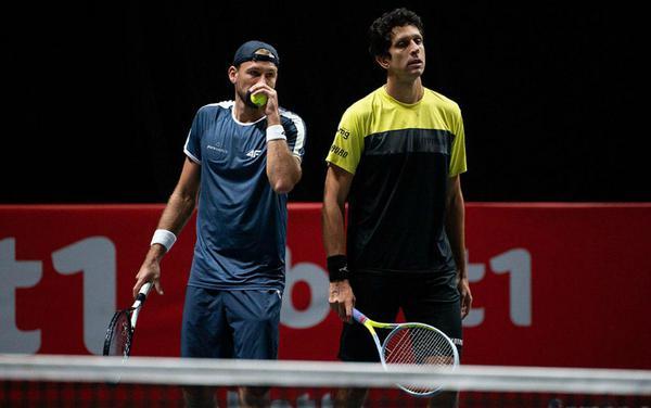 Kubot e Melo, felizes com a atuação e a segunda vitória em Colônia