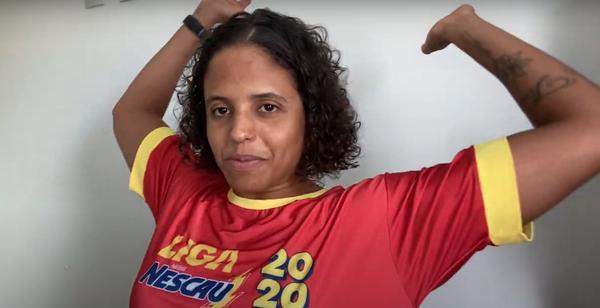 Etiene quer motivar os jovens a praticar esporte